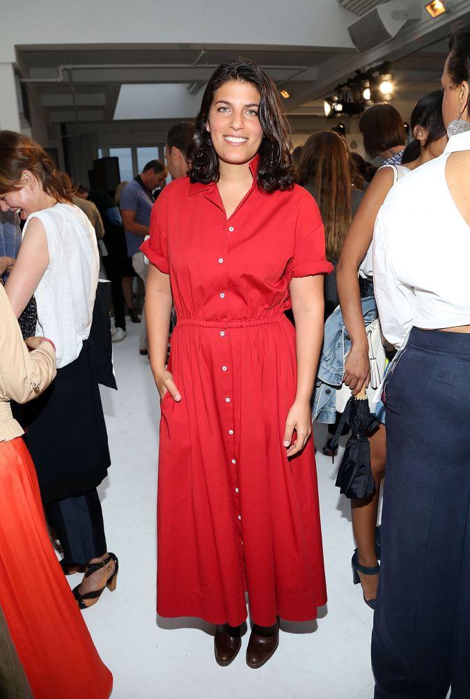 Fashion designer Rosie Assoulin attends 2014/2015 International Woolmark Prize U.S.A Regional awards at Milk Studios on July 14, 2014 in New York City.