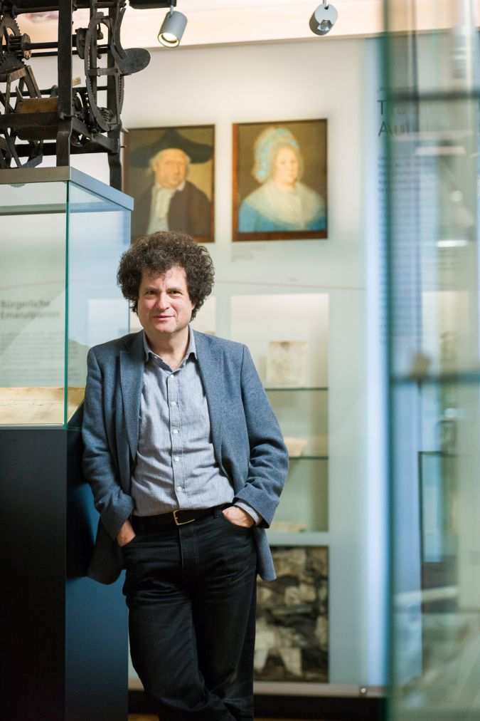 Last Jew Standing: Hanno Loewy is the director of the Jewish Museum in Hohenems.
