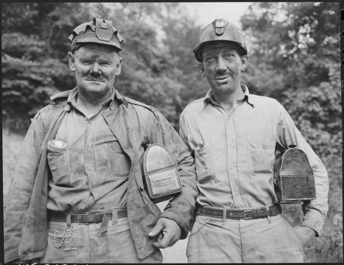 Bloody Harlan: The mine wars roiled Harlan for decades. Here, two miners pose in 1946.