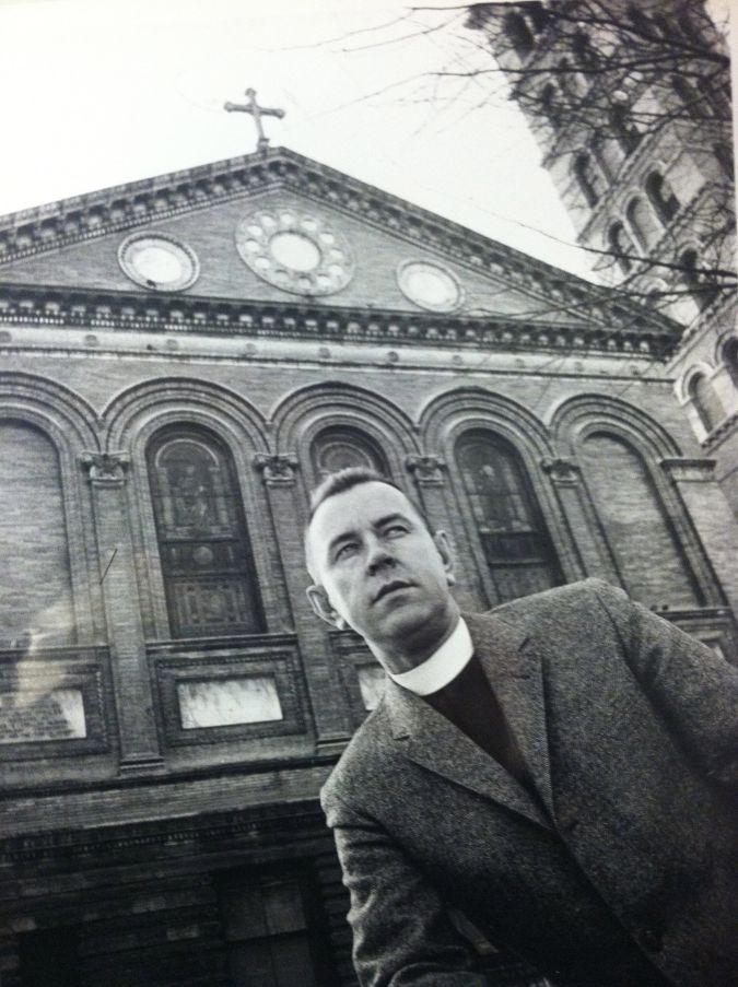 Founder: The Reverend Howard Moody of the Judson Memorial Church in Manhattan's Greenwich Village neighborhood started CCS, saying 'There are higher laws transcending legal codes.'