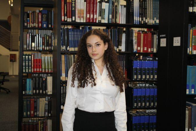 Rachel Shulman, 19, originally from Passaic, New Jersey