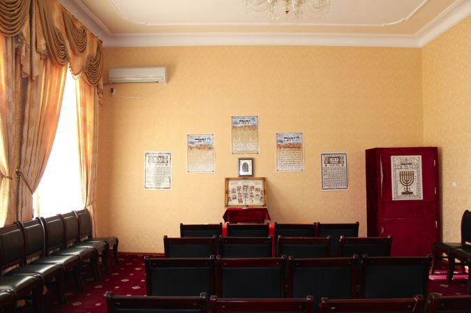 The private home that now serves as a synagogue for the remaining Jews of Dushanbe.