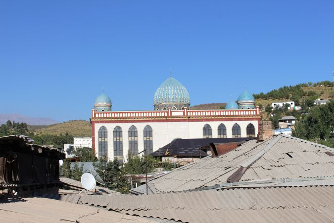 More Muslim: New mosques are sprouting up in Dushanbe, many of them funded by Saudia Arabia and other Gulf countries.