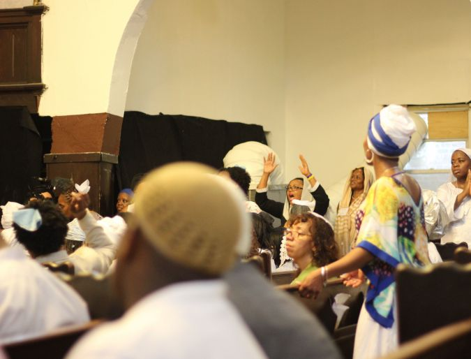 A diverse gathering of Israelites celebrates the inauguration of a chief rabbi this August at Bnai Adath Kol Beth Yisrael in Brooklyn, a congregation that amalgamates both rabbinic and cultural approaches.