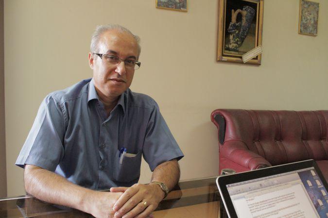 Homayon Najafabadi, the Executive Director of Tehran Jewish Committee