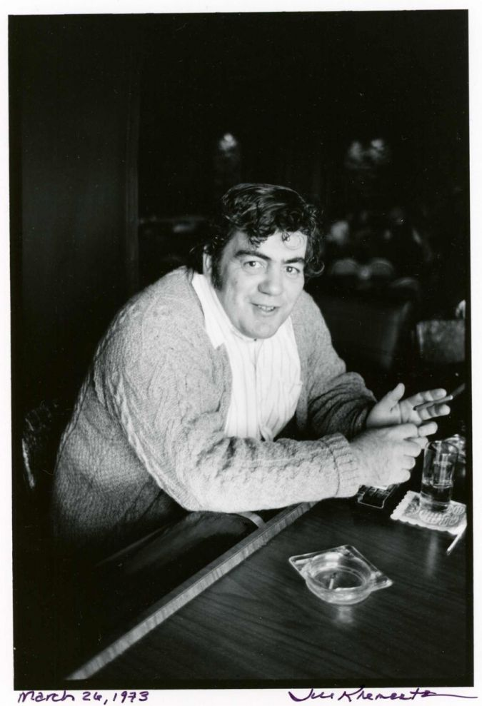 Jimmy Breslin, March 26, 1973.