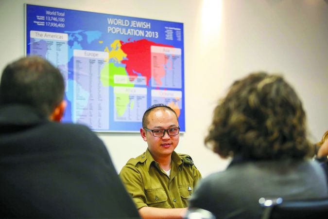 Testimonial: Moshe Li, from Kaifeng, China, speaks with a new Ministry of Diaspora Affairs committee evaluating several Judaizing communities.