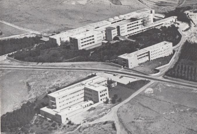 Hadassah Hospital on Mt. Scopus, which was reopened following the Six-Day War