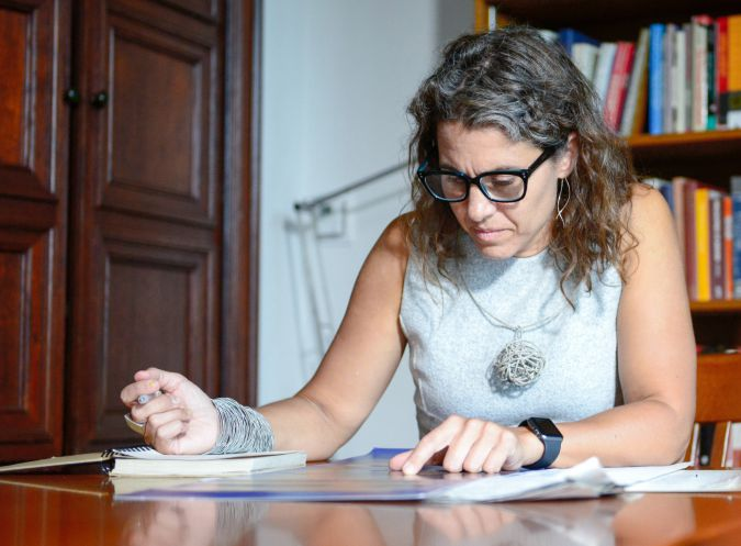 Qaraite Champion: Marina Rustow hopes to expand both the methods used and insights gained in her work on the Cairo Genizeh.