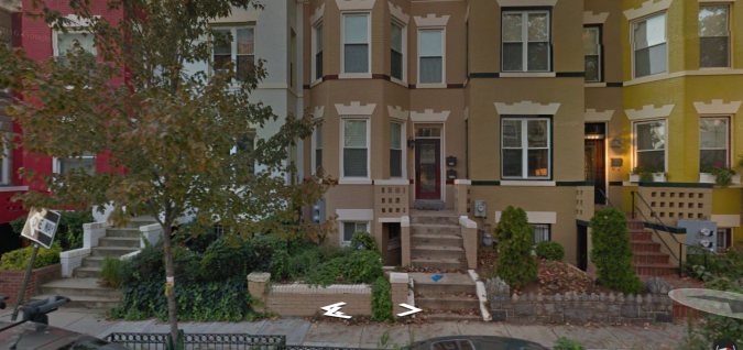 Seth Rich's block in the Bloomingdale section of Washington D.C.