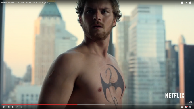 "Community Chest: Finn Jones stars in the Netflix series ""Iron Fist."""