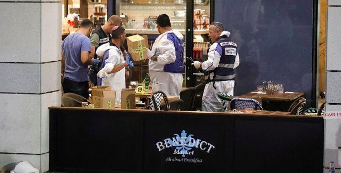 Israel police probe aftermath of Tel Aviv terror shooting.