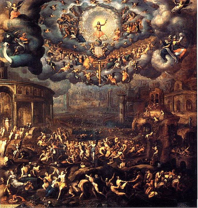 Jean Cousin The Younger - The Last Judgement (16th Century)