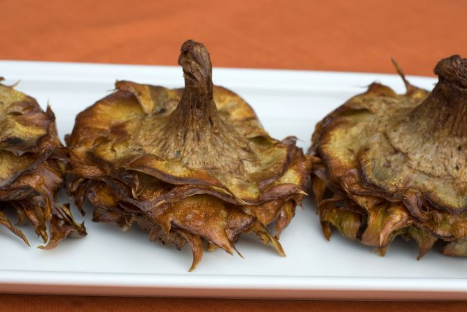 Crispy Artichoke: Silvia Nacamulli blends Jewish and Italian recipes for her cooking classes, like these fried artichokes.