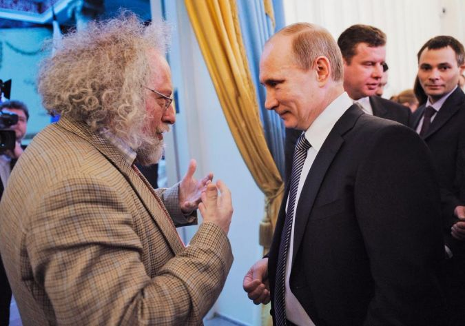 Alexei Venediktov speaks with Vladimir Putin.