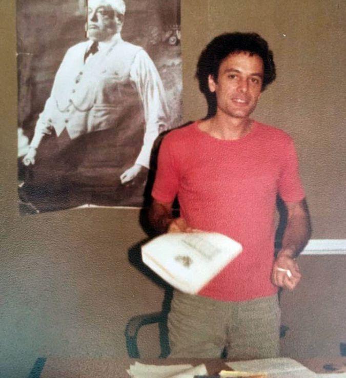 Youthful Inspiration: Teacher Irv Steinfink taught Lin-Manuel Miranda at Hunter.