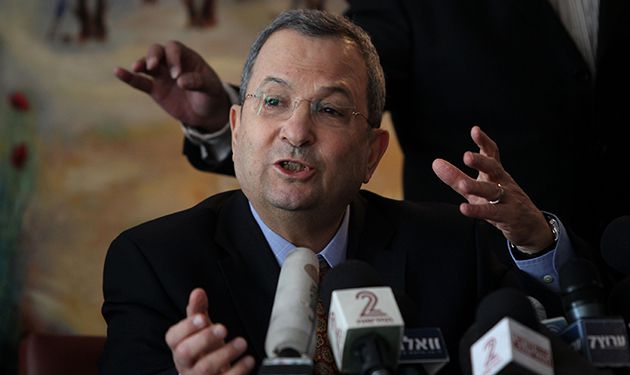 Breaking Away: Ehud Barak announces on January 17 his decision to leave Labor and form his own centrist party, the ?Independence? party.