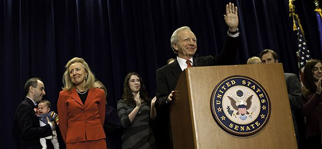 Waving Goodbye: Senator Joe Lieberman of Connecticut announced on Janury 19 that he would not run for a fifth Senate term. Best known for his 2000 candidacy as the first Jewish vice presidential nominee from a major political party, Lieberman has been embattled since 2006, when he lost a primary race and left the Democratic party. He is 68.