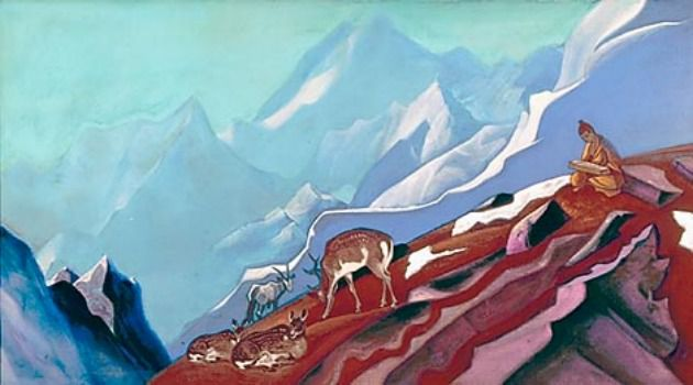 People of the Book: In 1935, artist Nicholas Roerich offered his vision of the ?Book of Life.?