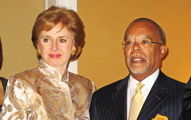 Georgette Bennett and Henry Louis Gates Jr.