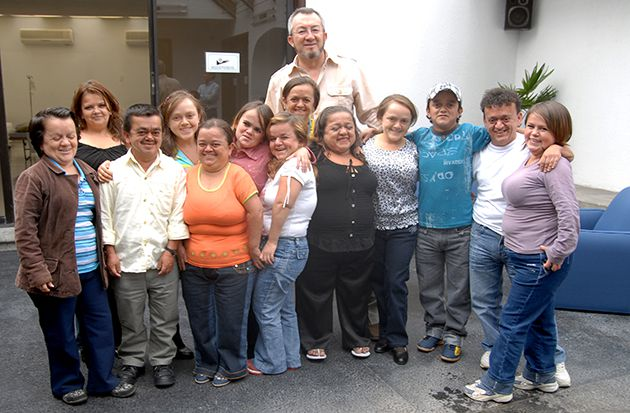Little People, Big Discovery: Dr. Jaime Guevara-Aguirre, an Ecuadorian diabetes specialist, with some of the people from Loja Province, a region in southern Ecuador, who took part in his study. The same gene mutation that causes these villagers to be shorter than 4 feet tall also protects them from cancer and diabetes.