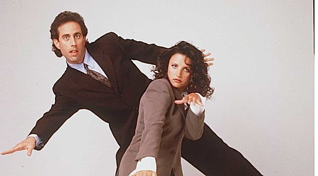A Show About Something: 'Seinfeld,' starring Jerry Seinfeld and Julia Louis-Dreyfus, is celebrating its 25th anniversary.