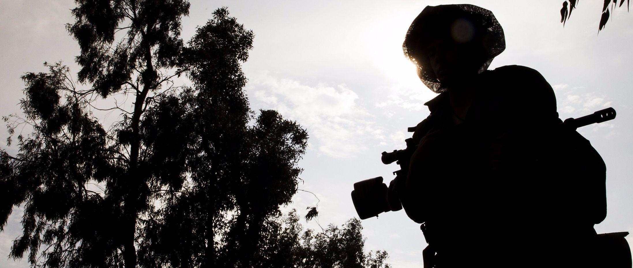 IDF Soldier.