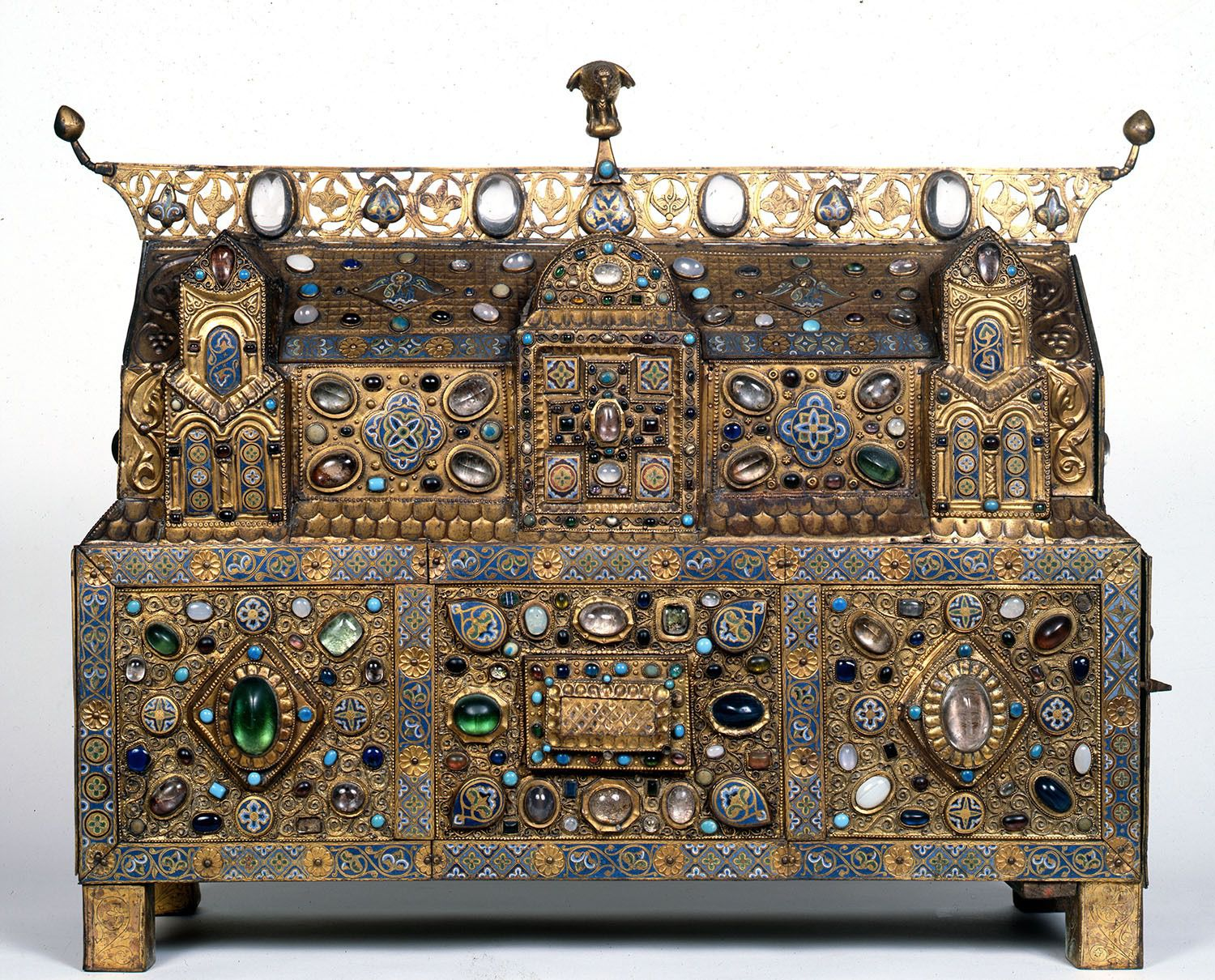 Chasse of Ambazac: From the Treasury of Grandmont Limoges, ca 1180-90