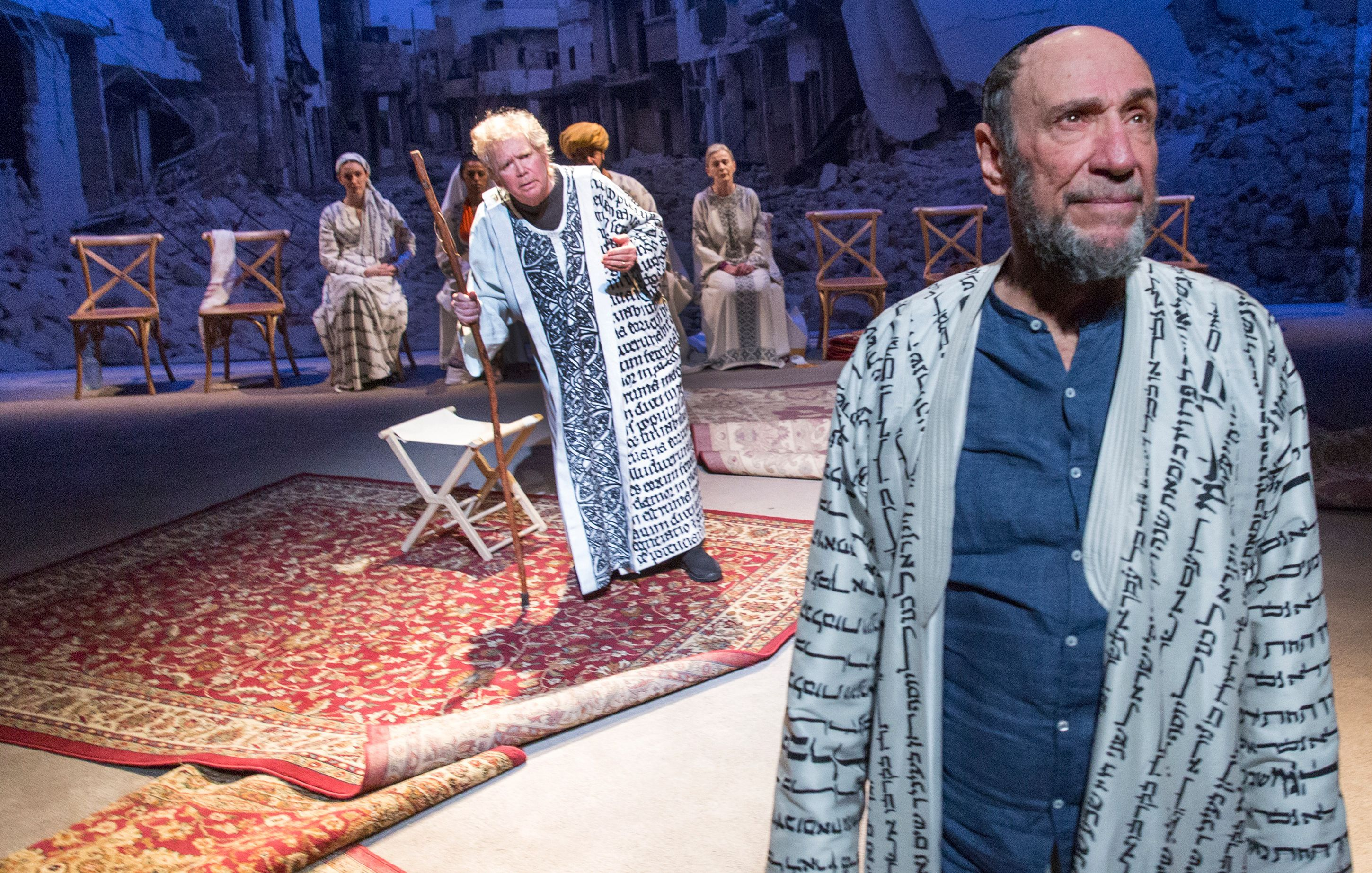"""Abraham The Wise: F. Murray Abraham stars as the title character in """"Nathan the Wise"""" at Classic Stage Company."""