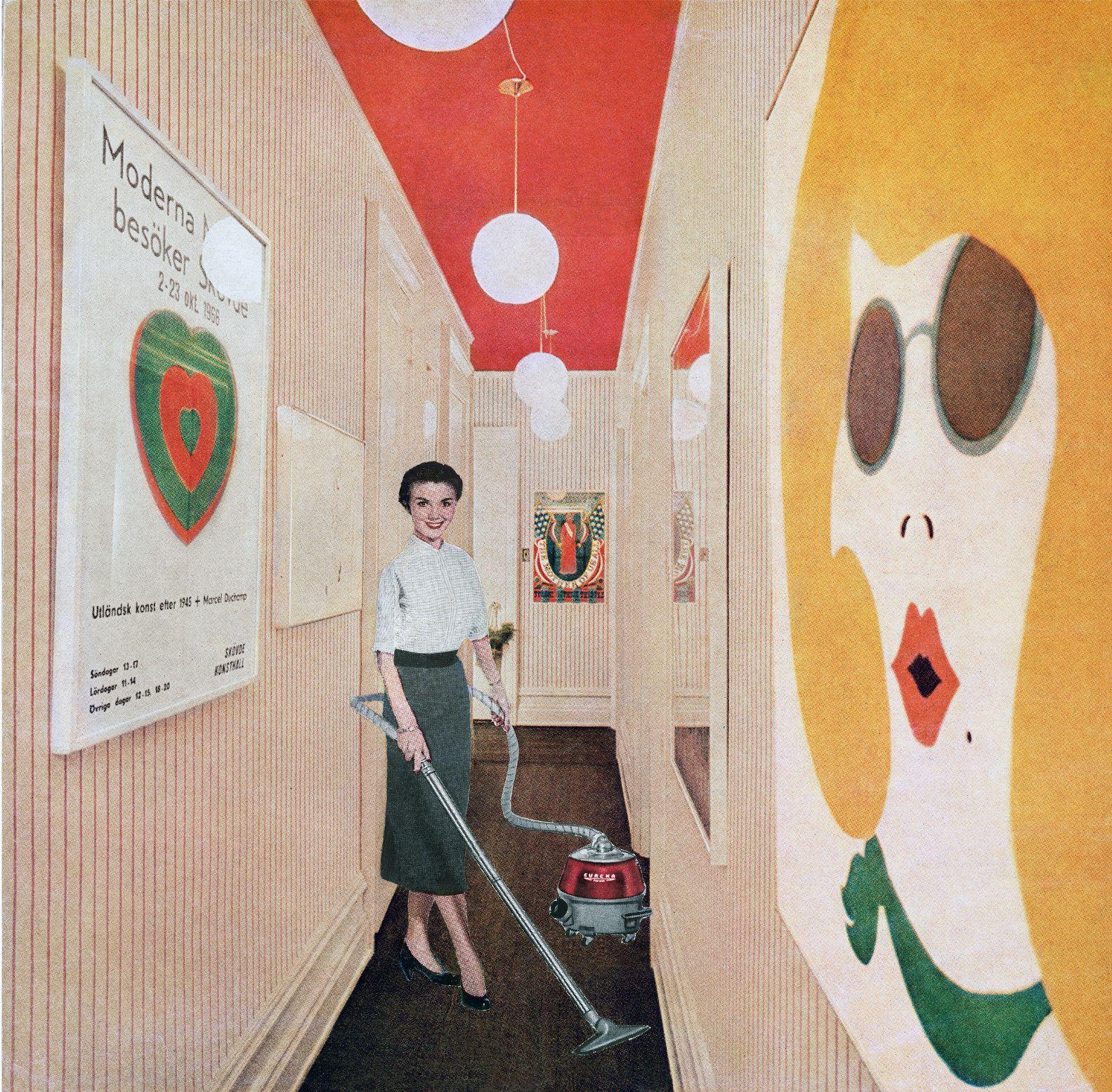 Martha Rosler?s ?Vacuuming Pop Art?