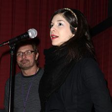 Yael Hersonski at the Sundance Festival in January, 2010.