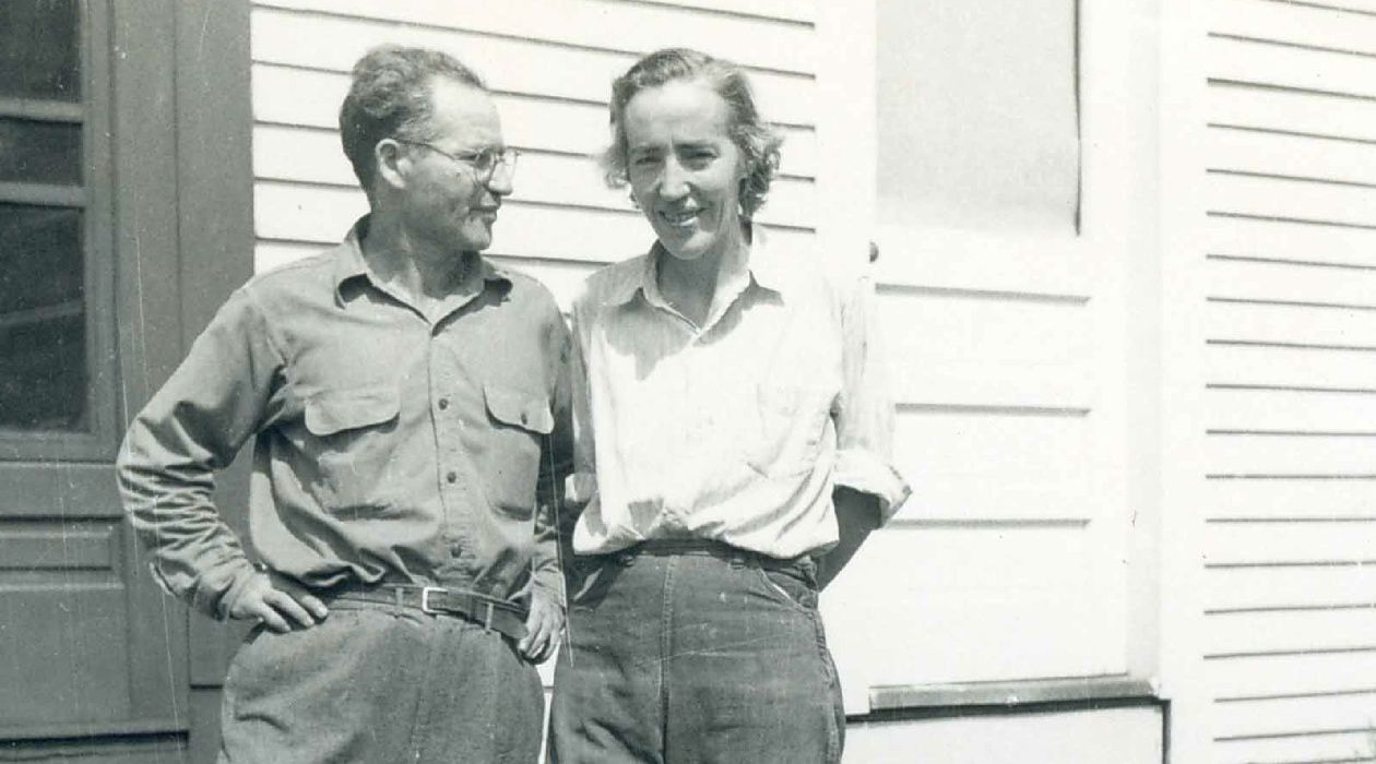 Henry and Muriel: Hugh Roth's parents in an undated photo.