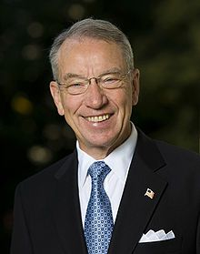 Senator Charles Grassley of Iowa