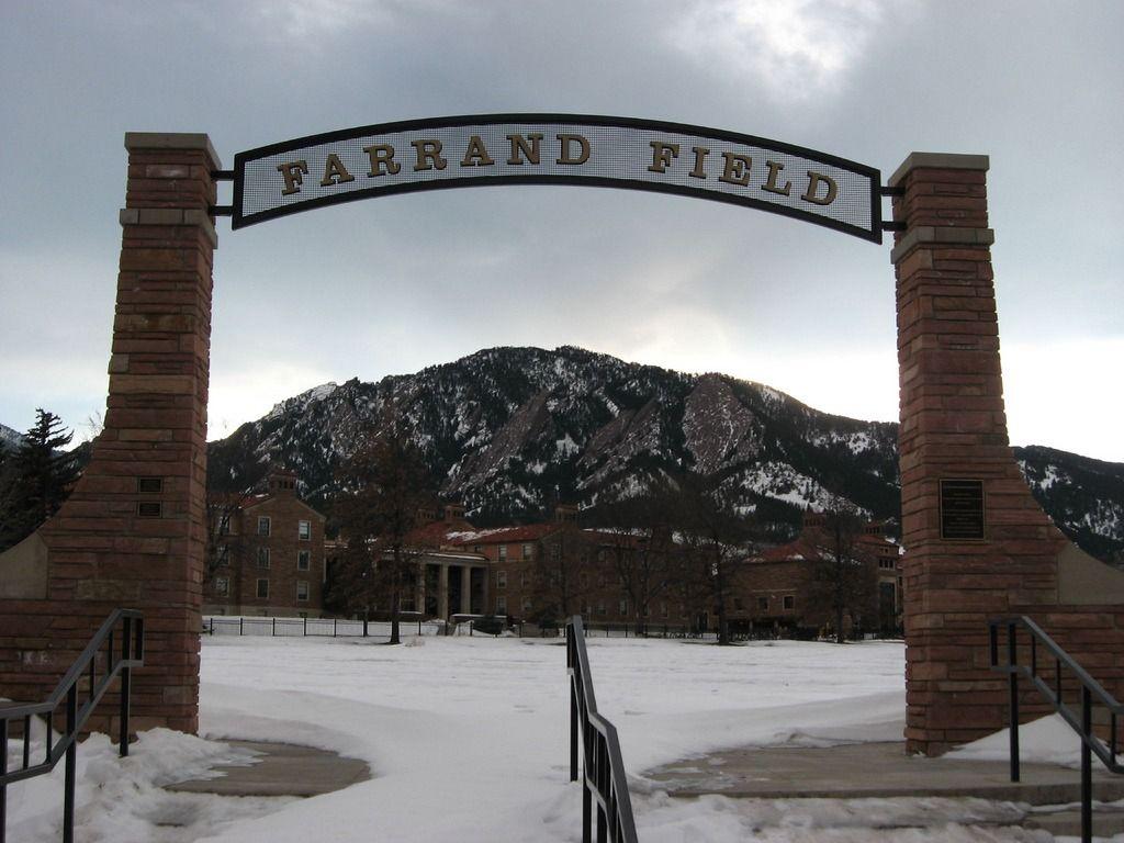 Farrand Field at University of Colorado, Boulder