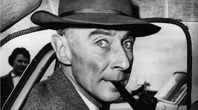 Father of the Bomb: J. Robert Oppenheimer lived on a New Mexico ranch before he began work at the Los Alamos laboratory.