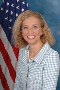 Rep. Debbie Wasserman Schultz of South Florida.