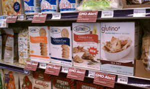 GMO labeling at Terra Organica in Bellingham, WA