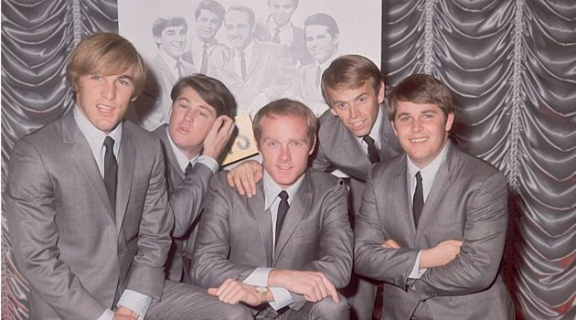 Having Fun Fun Fun 'Til Her Daddy Takes the T-Bird Away for Shabbos: The Beach Boys as seen in 1964.