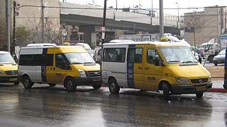 Sheruts in Israel
