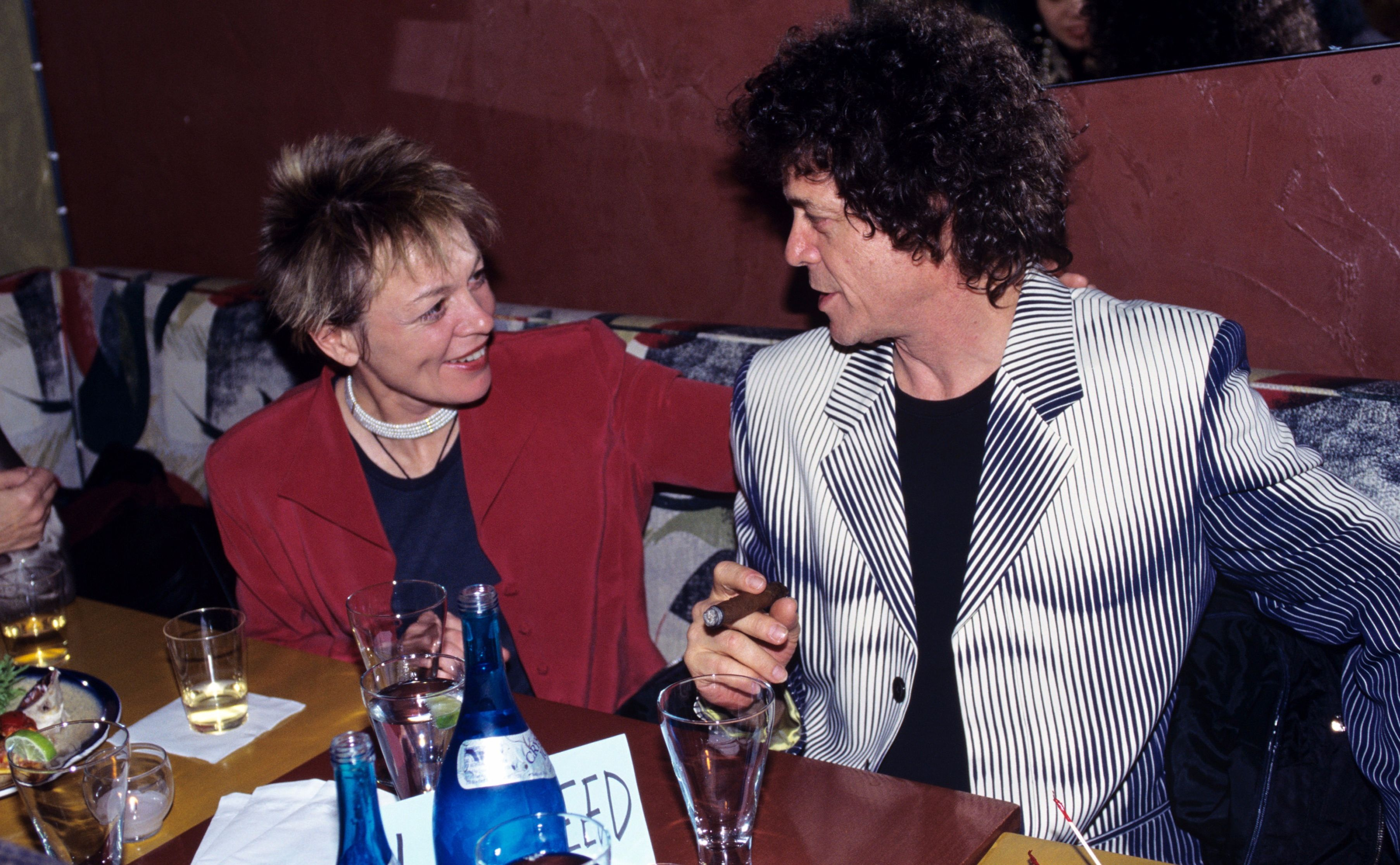 Lou Reed with Laurie Anderson