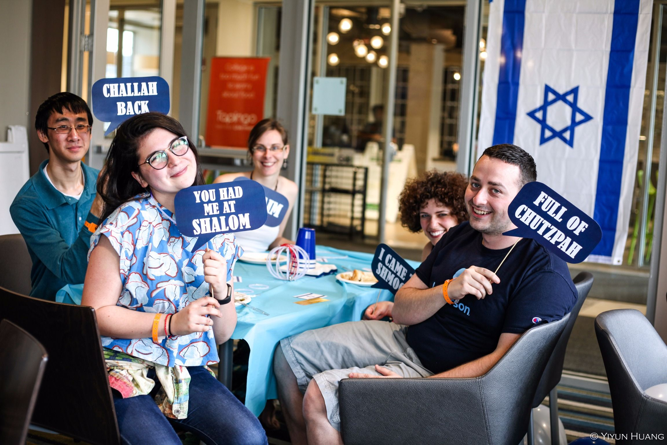Jewish students at the University of Rochester.