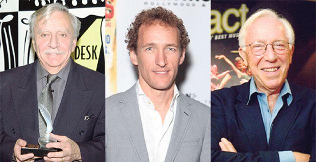 Big Shots: From left, Emanuel Azenberg, Jeffrey Seller and Bernard Gersten.