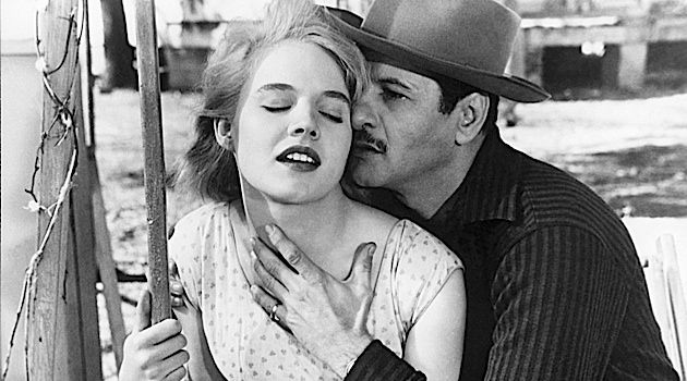 "The Good, The Bad and Him: Eli Wallach stars in his first film, ""Baby Doll,"" with Carroll Baker. The film was written by Tennessee Williams and directed by Elia Kazan."