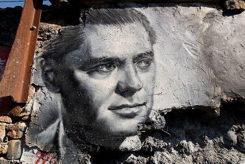 Portrait of Jean Moulin.
