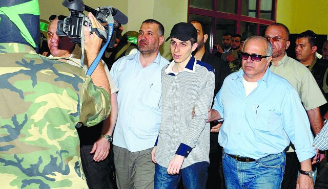 Coming Home: Gilad Shalit returns to Israel, October 2011, after more than five years? imprisonment by Hamas in Gaza.