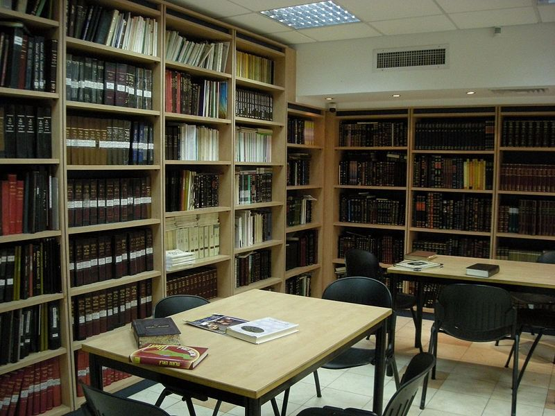 A Chabad library