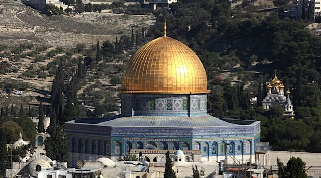 The Temple Mount is the Muslim world's third-holiest site and boasts the glittering Al-Aqsa Mosque.
