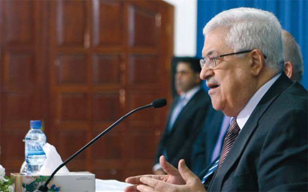 From The Top: Palestinian President Mahmoud Abbas received a letter from President Obma, encouraging direct talks.