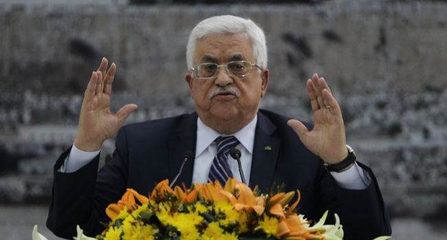 Provocateur? What were Mahmoud Abbas?s motivations for stepping away from the process?