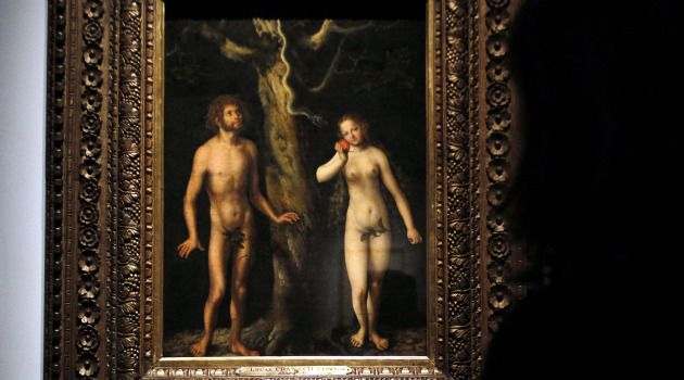The Original Tautology: Writing about the serpent?s seduction of Eve in the Garden of Eden and about a statement in the Talmud, Rabbi David Kimchi said that Adam and Eve?s transgression polluted all humanity until the stain was removed from Israel at Mount Sinai. He remarked, ?I won?t expound on this homily so as not to reveal hidden things? and ha-mevin yavin.?